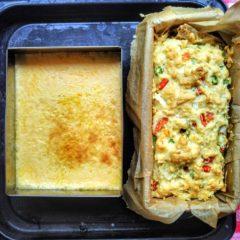 オーブンで同時調理