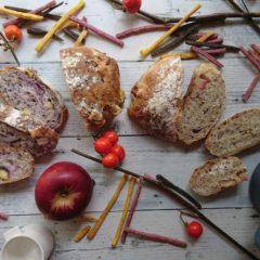 秋味こねないパン